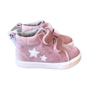 NWT Gymboree rose velvet sneakers